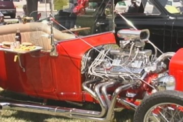 GENTLEMEN, POLISH YOUR ENGINES! IT'S THE CAR SHOW!