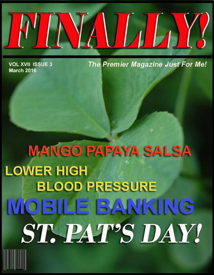 FINALLY! magazine The Premier Magazine Just for Me! BABY BOOMER magazine SENIOR CITIZENS magazine