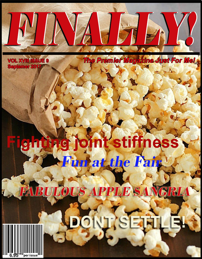FINALLY! MAGAZINE The Premier Magazine Just For You! Gen X, Baby boomers, Senior Citizens